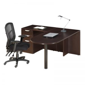L-Shape Bullet Desk