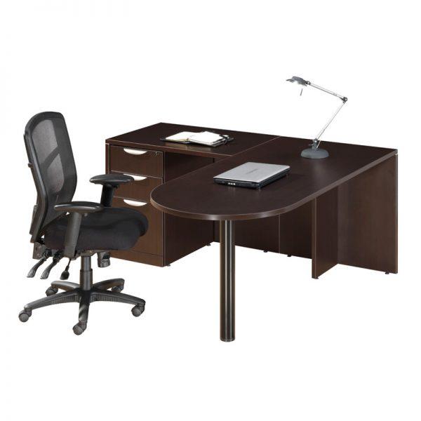 L-Shape Bullet Desk