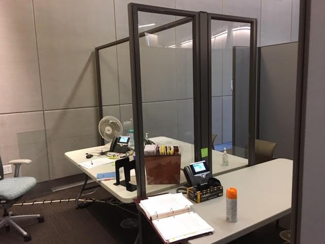 Lawyer Defendant Meeting Area