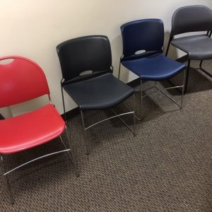 Gently Used Stacking Chairs