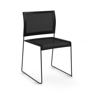 Black-Mesh-Stacking-Chair---The-Pixel-Series