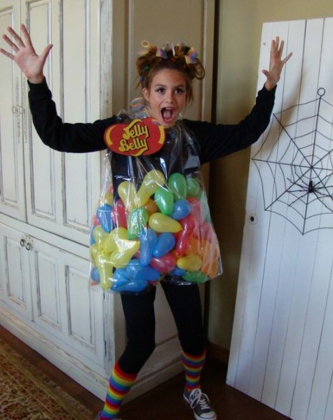 Costume Ideas for Work - Bag of Jelly Beans