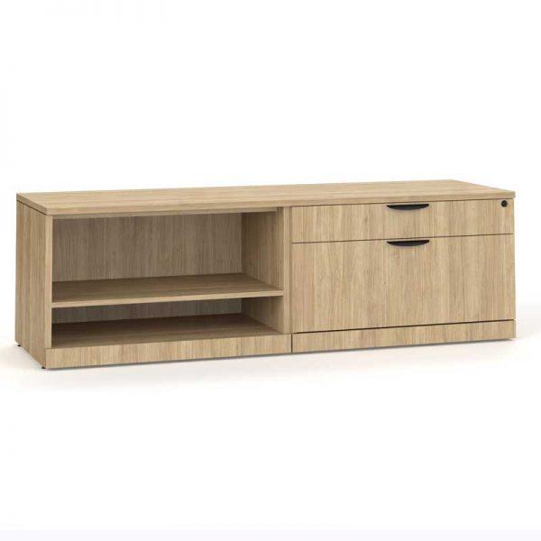 Low Profile Storage - Bookcase & Filing Cabinet