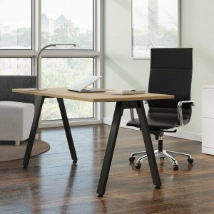 Table-Desk-With-Black-V-Legs