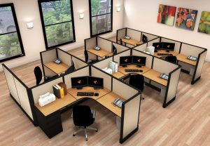 6 pack cubicles