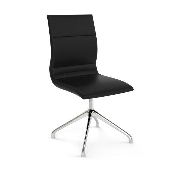 Black-Leather-Guest-Chair---The-Nova-III