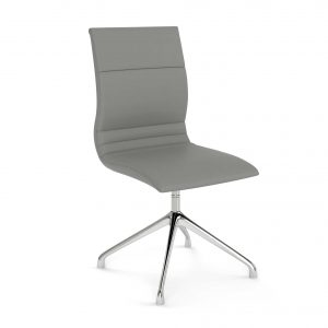 Gray-Leather-Guest-Chair---The-Nova-III