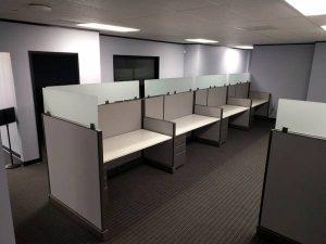 benching cubicles