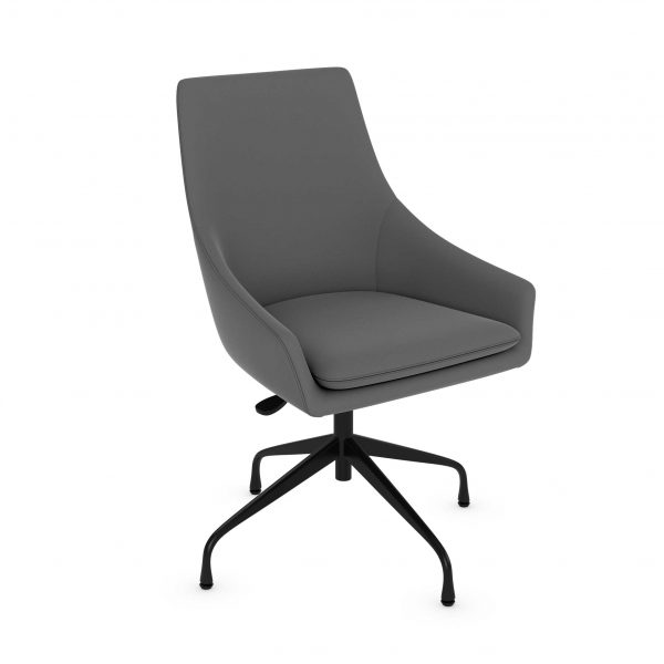 Fabric Swivel Guest Chair