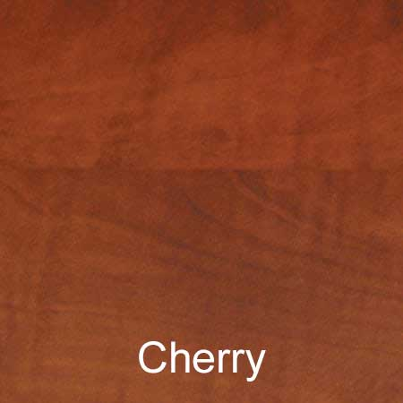 cherry color sample